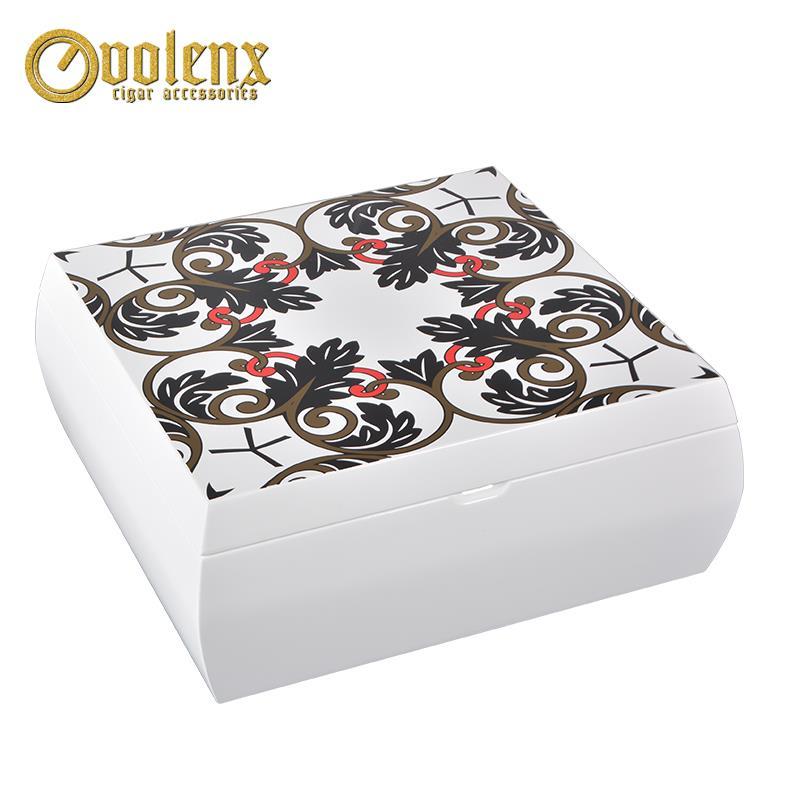 white wooden perfume box-121