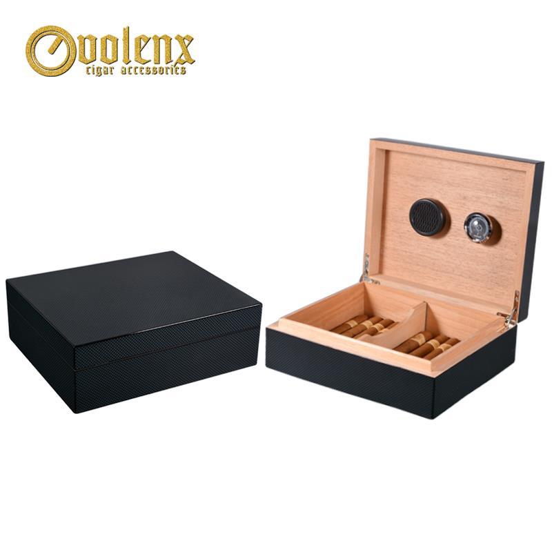 کاربن فائبر لکڑی سگریٹ باکس
