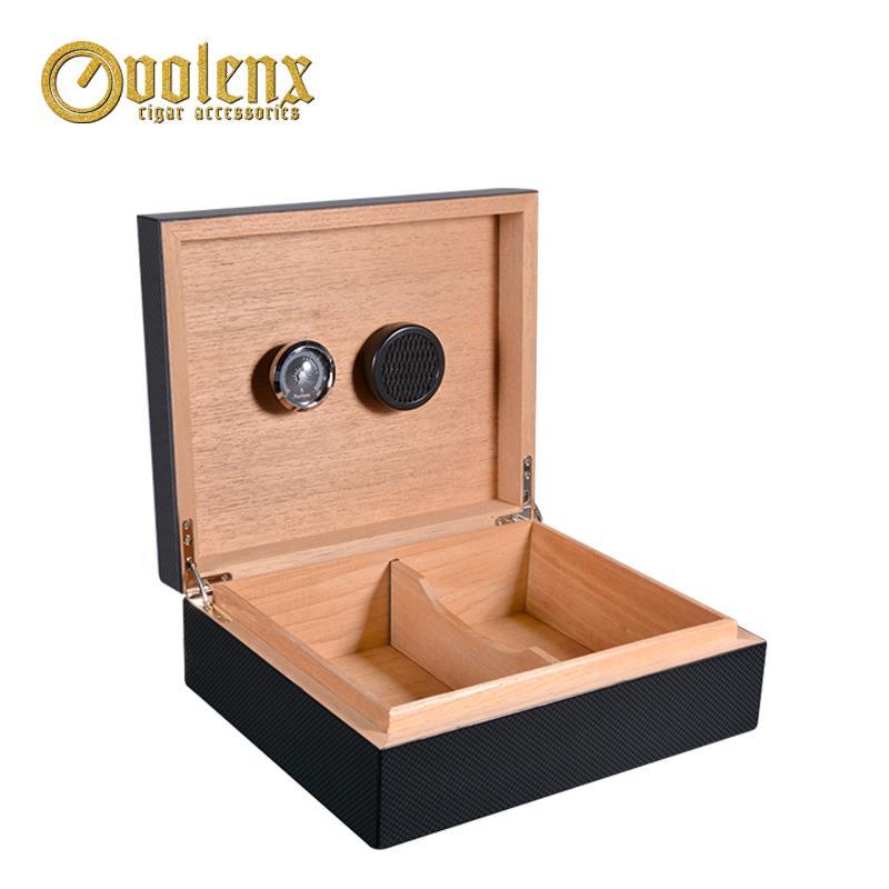 carbon fiber humidor box