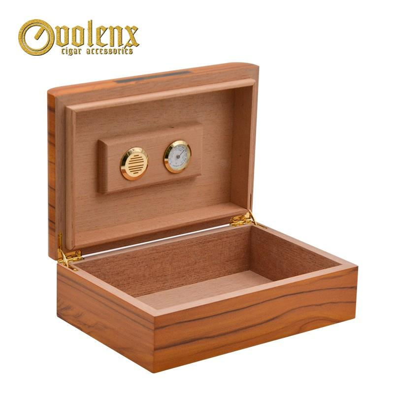 Spanish Cedar Wood Cigar Humidor Box