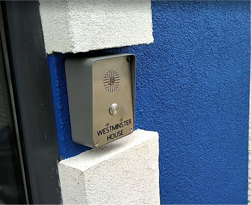 J&R Vandal Proof Door Intercom