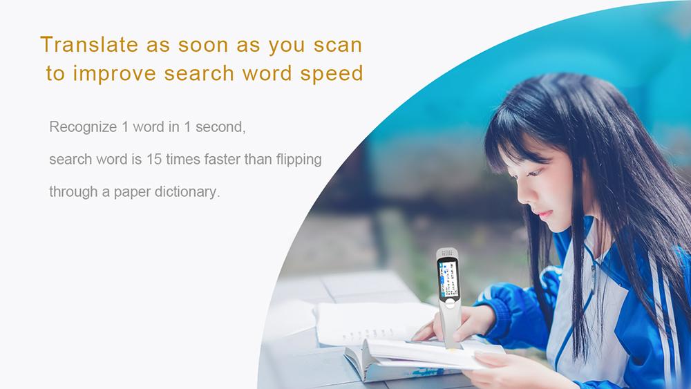 2020 New arrival affordable translator pens scanning touch screen pen translation online offline for learning languages