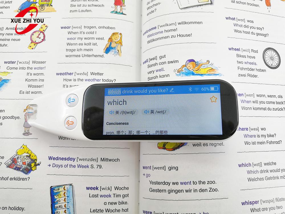 Ultra-portable scantalker translation pen