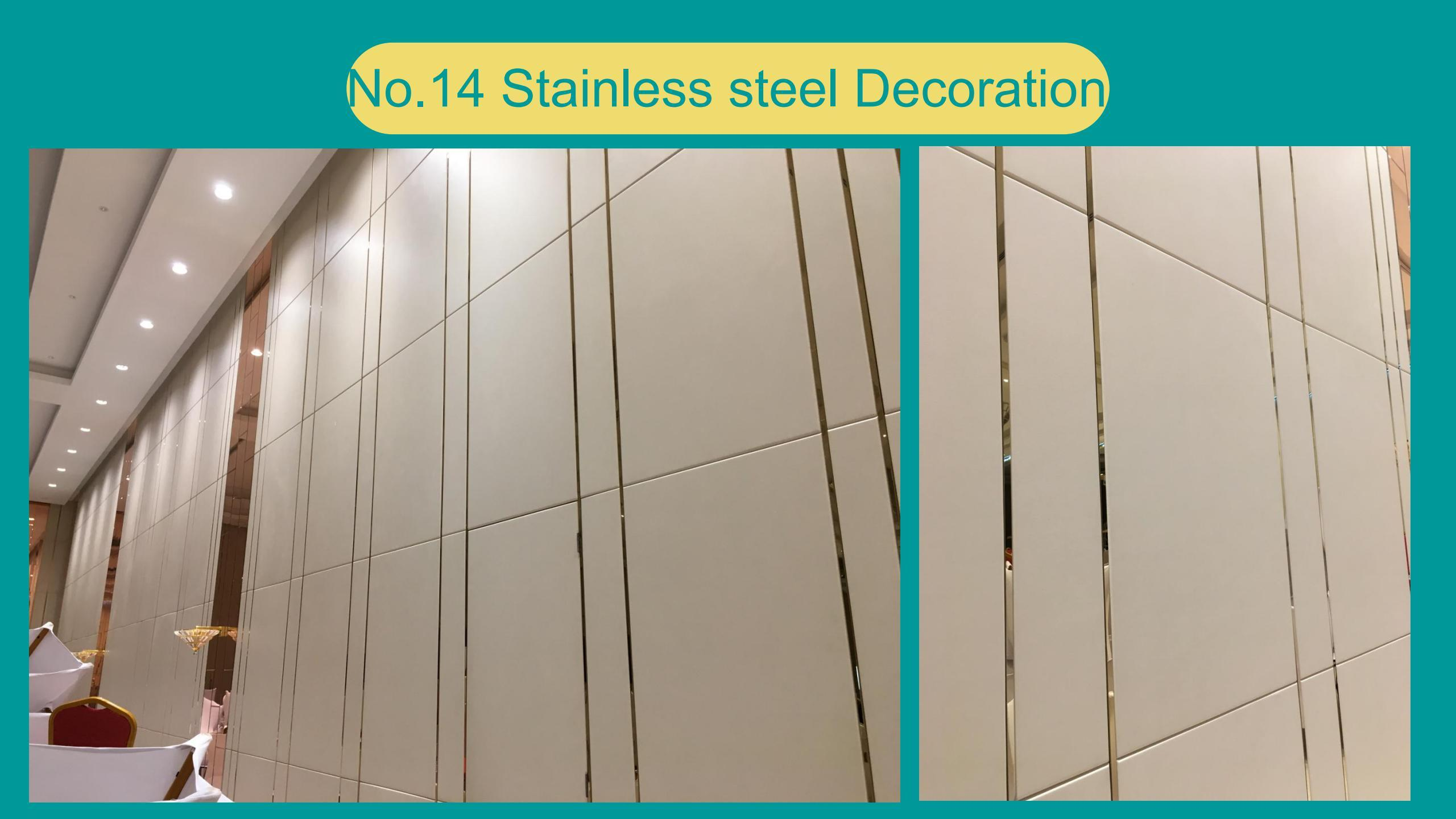 Stainless steel Decoration