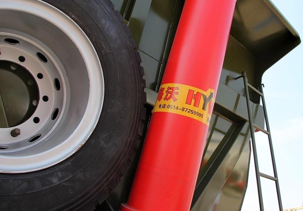 40 Ton U Style Rear Tipper Trailer 13