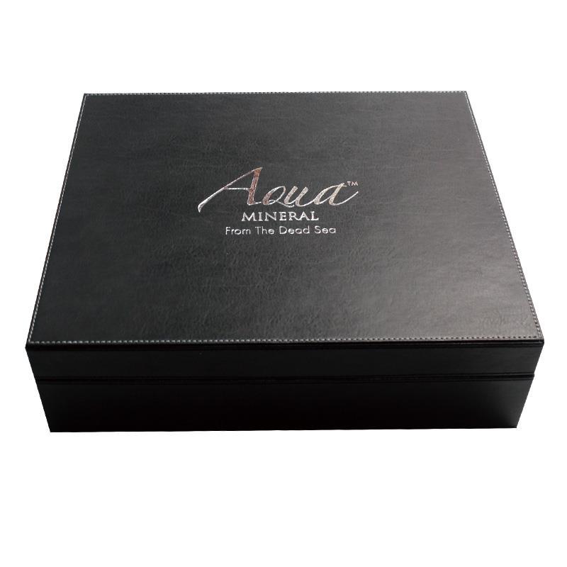 black PU leather box (1)
