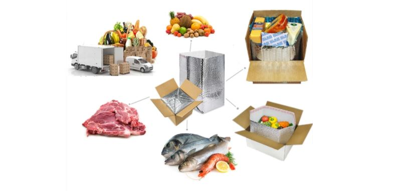 insulated boxes for frozen food delivery