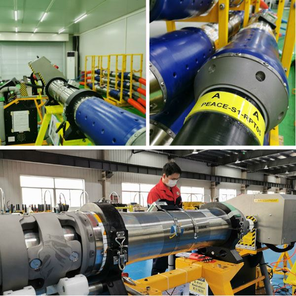 Huawei Marine PEACE Submarine Cable Project Underwater Product Production Integration Is In Progress