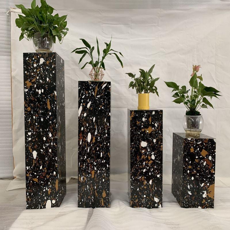 Marble Flowerpot Column