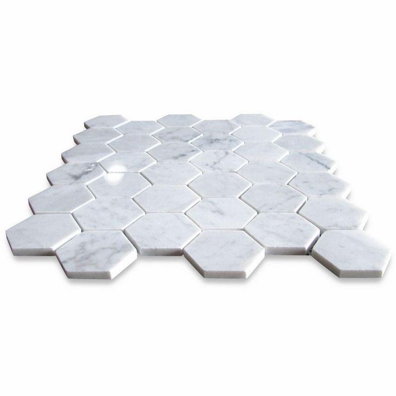 Bianco Carrara Marble Mosaic.jpg