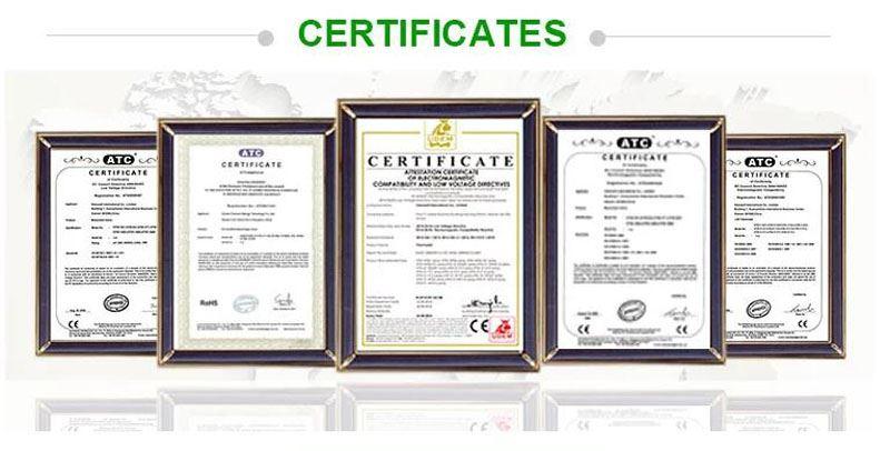 FCU Thermostat certificate