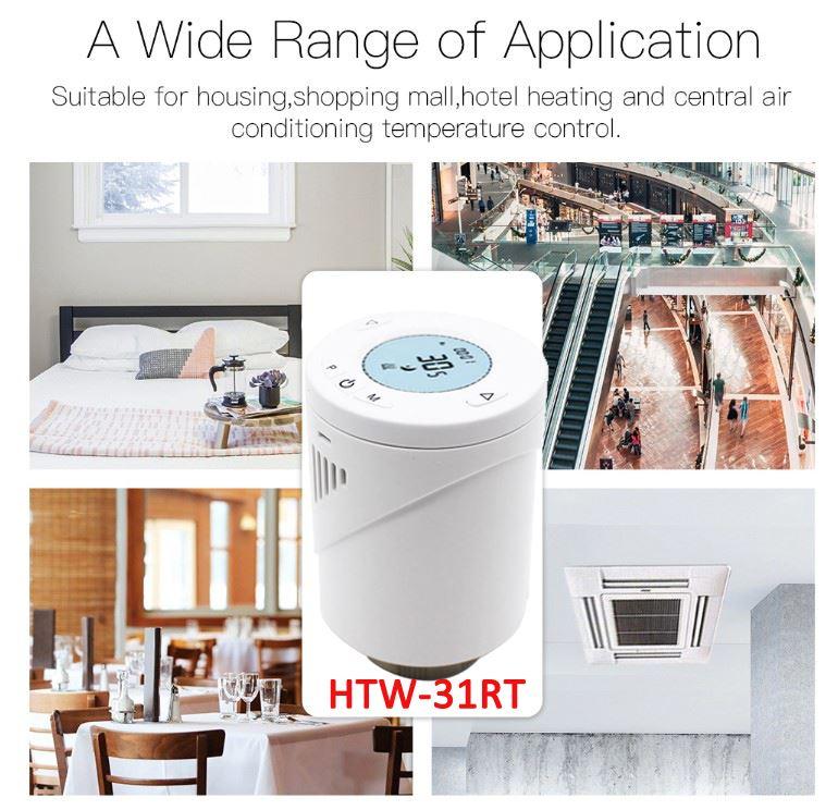 Zigbee Home Thermostat