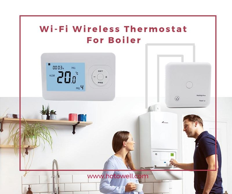 application of boiler thermostat