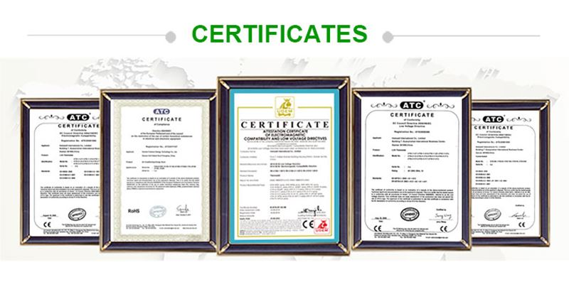 certificate of smart digital thermostat