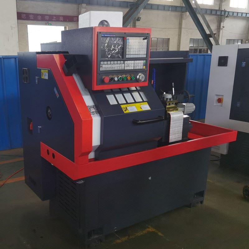 Flat Bed CNC Mini Lathe Turning Machine