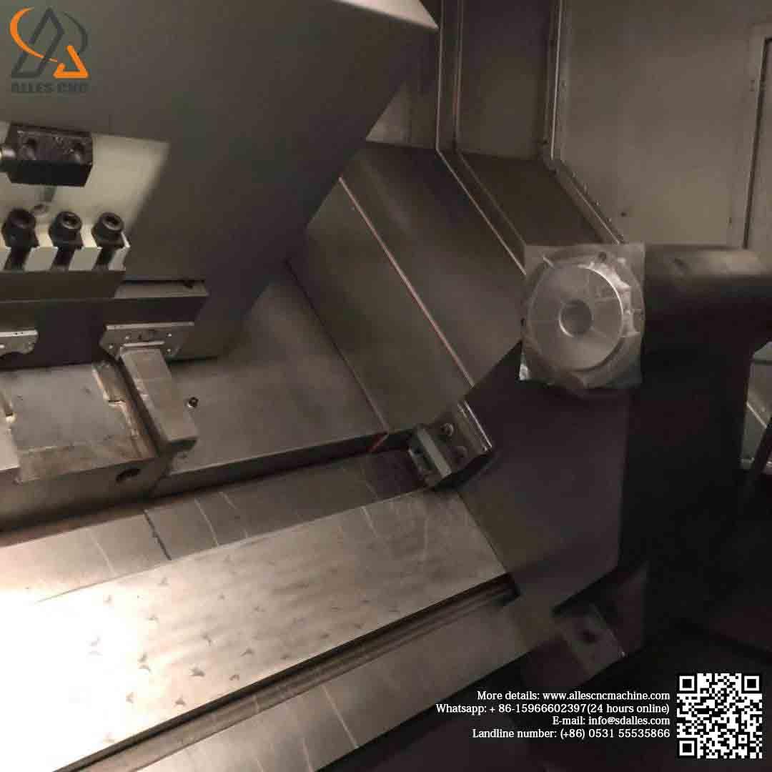Slant Bed CNC Mini Lathe Turning Machine