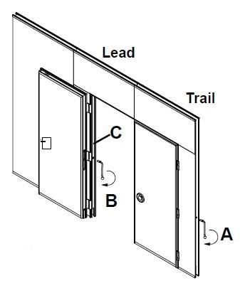 sliding folding partition Example (f)