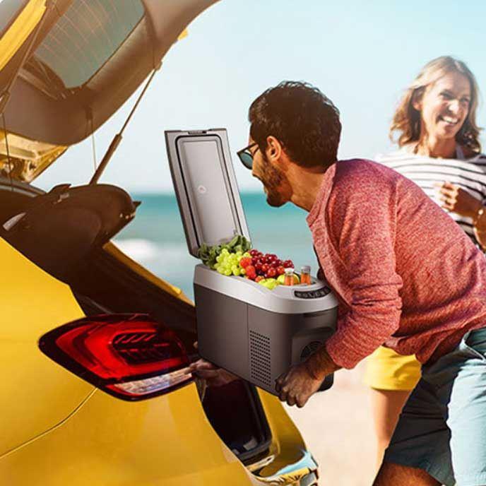 Rotation Viscous Dashpot  Vehicle Portable Fridge